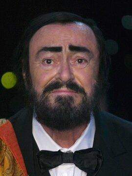 Luciano Pavarotti Headshot