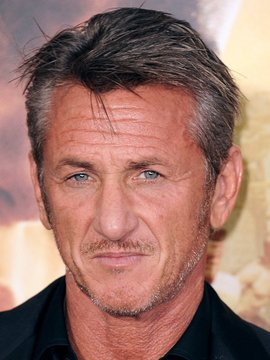 Sean Penn Headshot