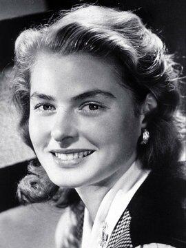 Ingrid Bergman Headshot