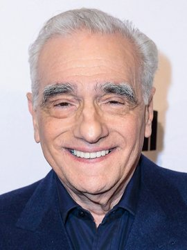 Martin Scorsese Headshot