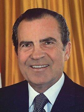 Richard Nixon Headshot
