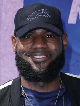 LeBron James Headshot