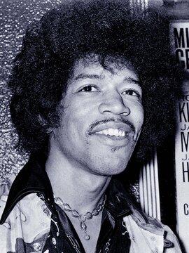 Jimi Hendrix Headshot