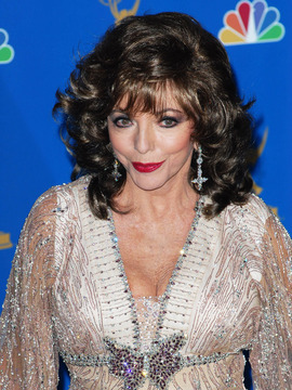 Joan Collins Headshot