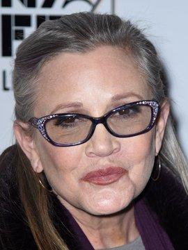 Carrie Fisher Headshot