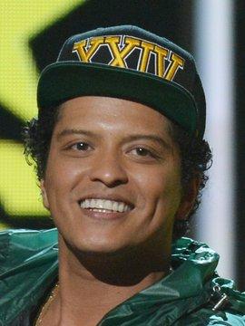 Bruno Mars Headshot