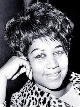 Aretha Franklin Headshot