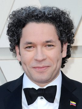 Gustavo Dudamel Headshot
