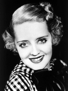 Bette Davis Headshot