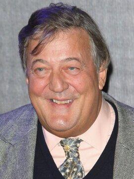 Stephen Fry Headshot