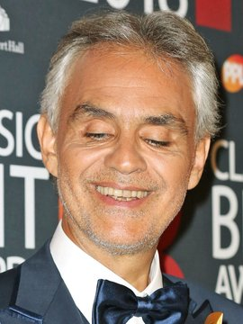 Andrea Bocelli Headshot