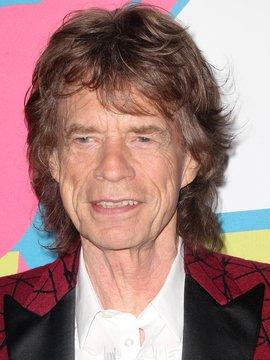 Mick Jagger Headshot