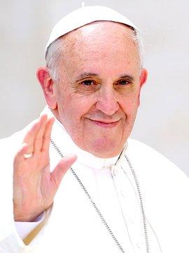 Pope Francis Headshot