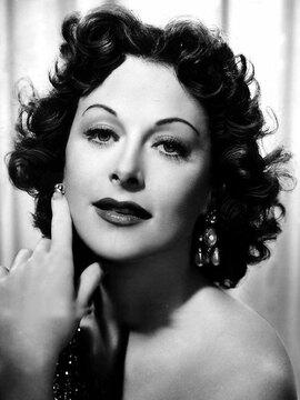 Hedy Lamarr Headshot