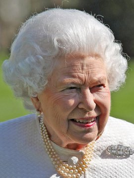Queen Elizabeth II Headshot