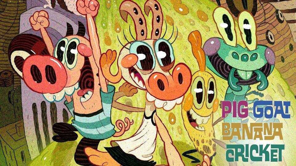 Pig Goat Banana Cricket - Nickelodeon