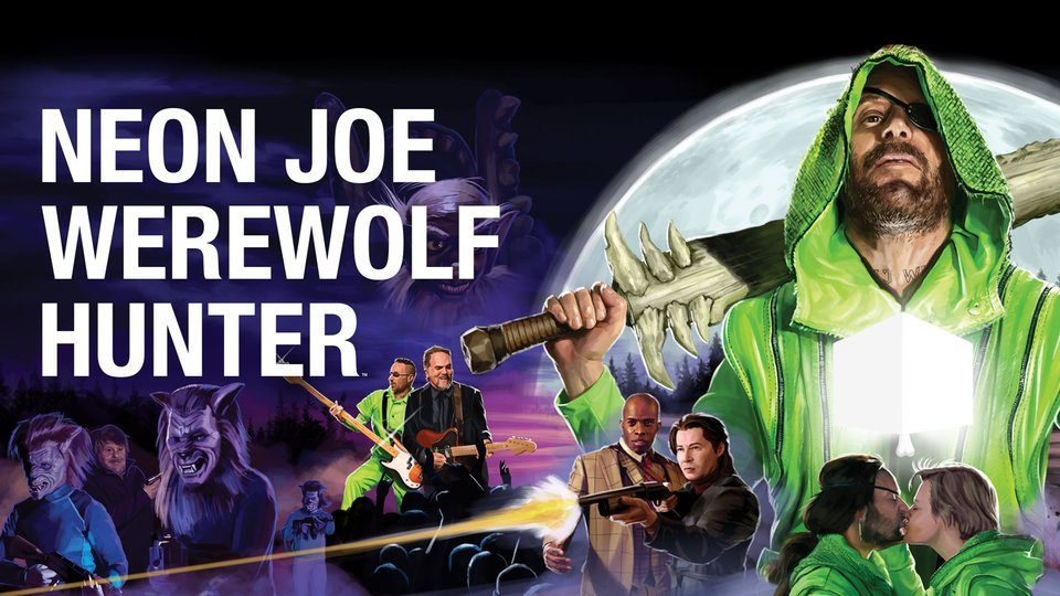 Neon Joe, Werewolf Hunter (Adult Swim)