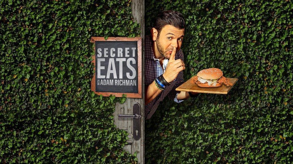 Secret Eats With Adam Richman - Travel Channel