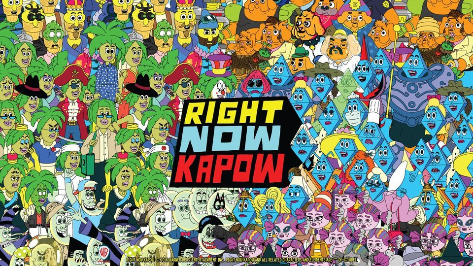 Right Now Kapow - Disney Channel