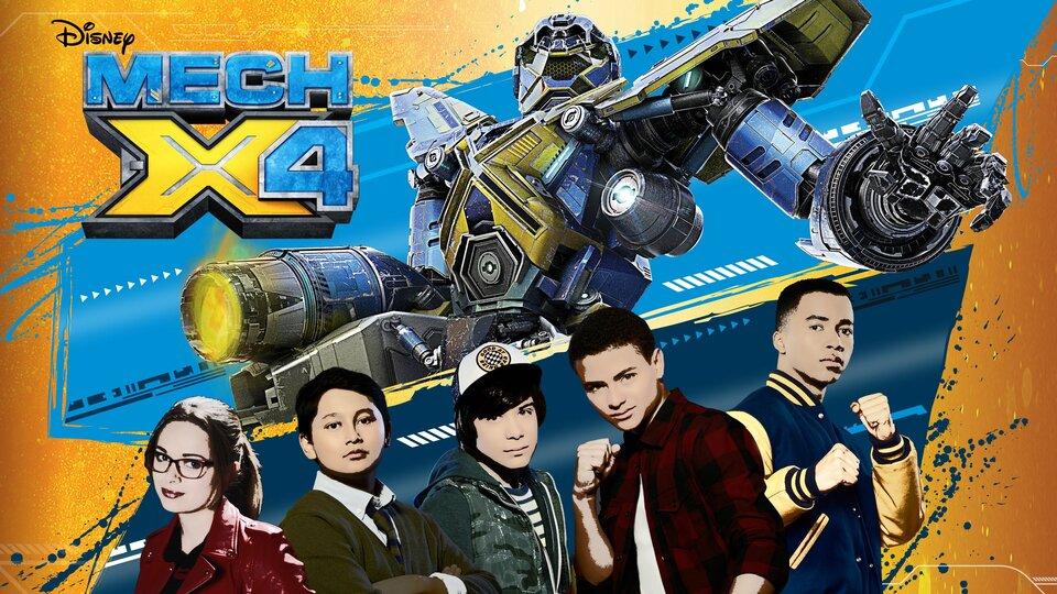 MECH-X4 - Disney Channel
