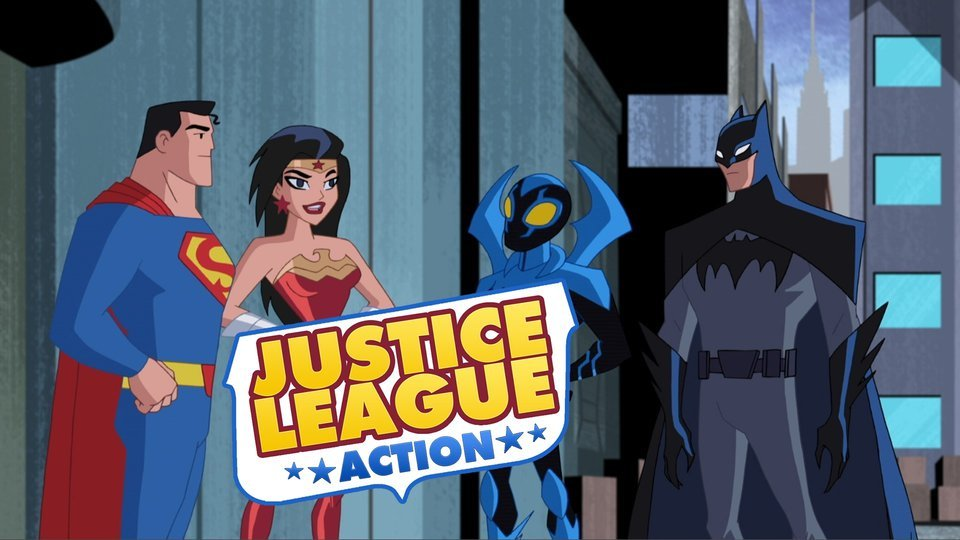 Justice League Action - Cartoon Network