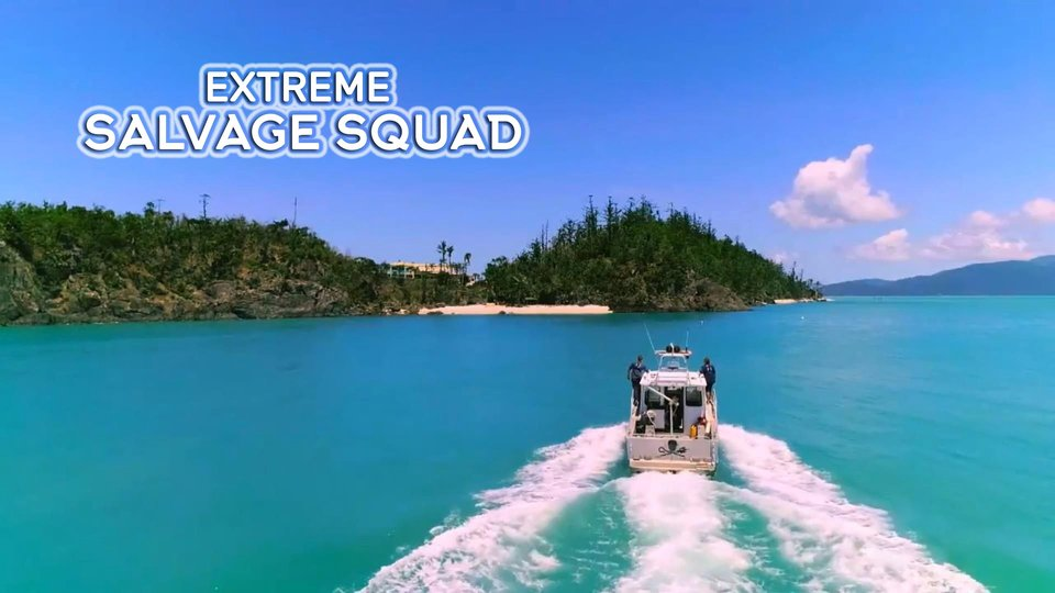 Extreme Salvage Squad - Discovery+