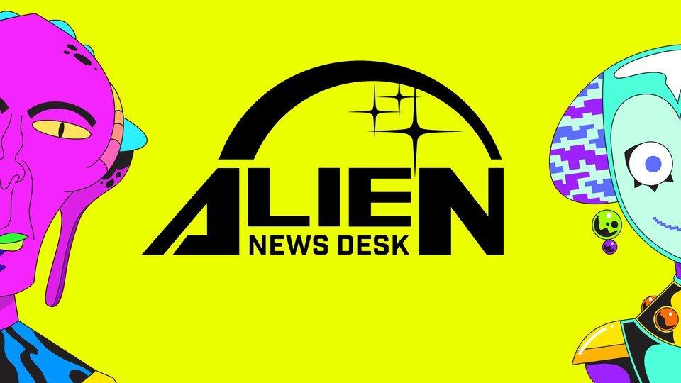 Alien News Desk - Syfy