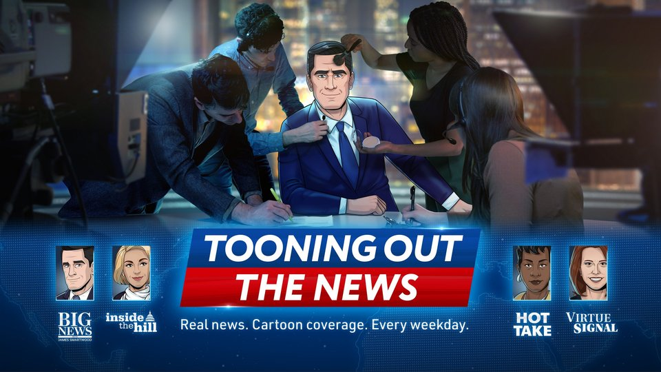 Tooning Out the News - Paramount+