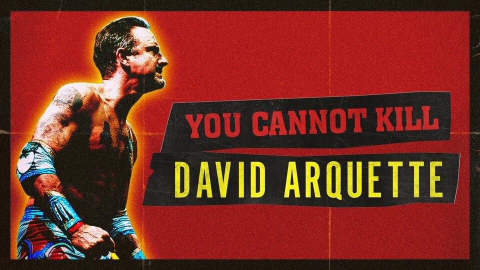 You Cannot Kill David Arquette - Hulu