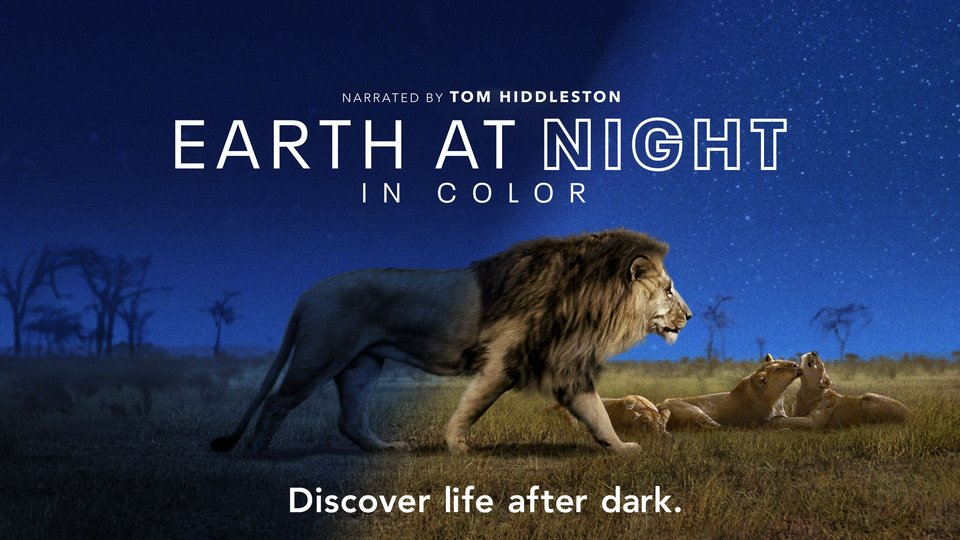 Earth at Night in Color - Apple TV+