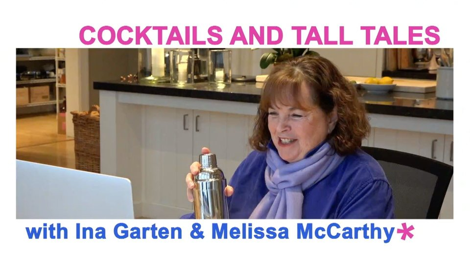 Cocktails and Tall Tales With Ina Garten and Melissa McCarthy - Discovery+