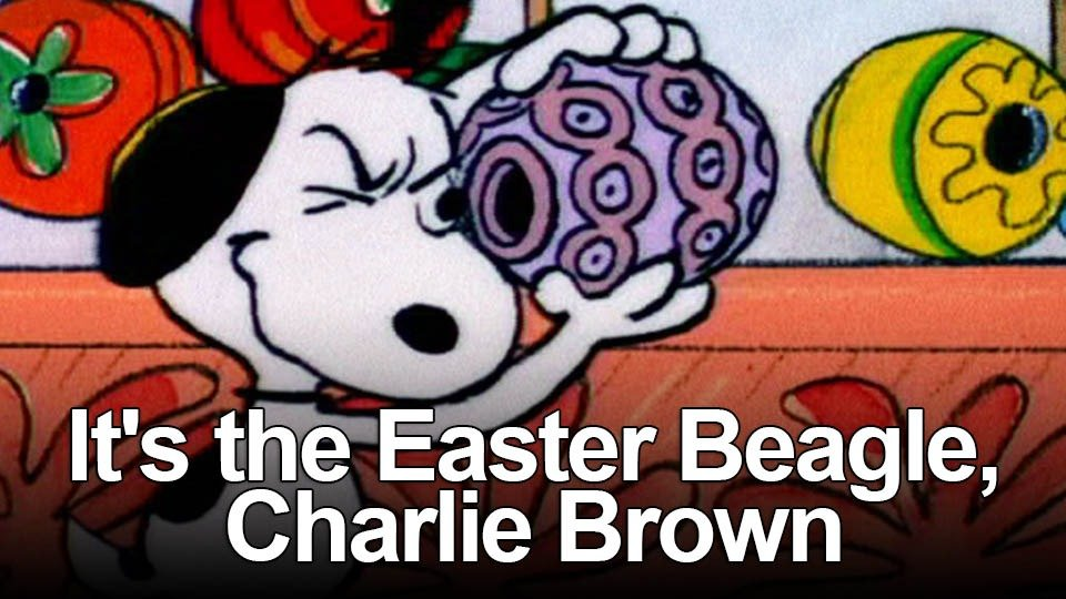 It's the Easter Beagle, Charlie Brown (Apple TV+)