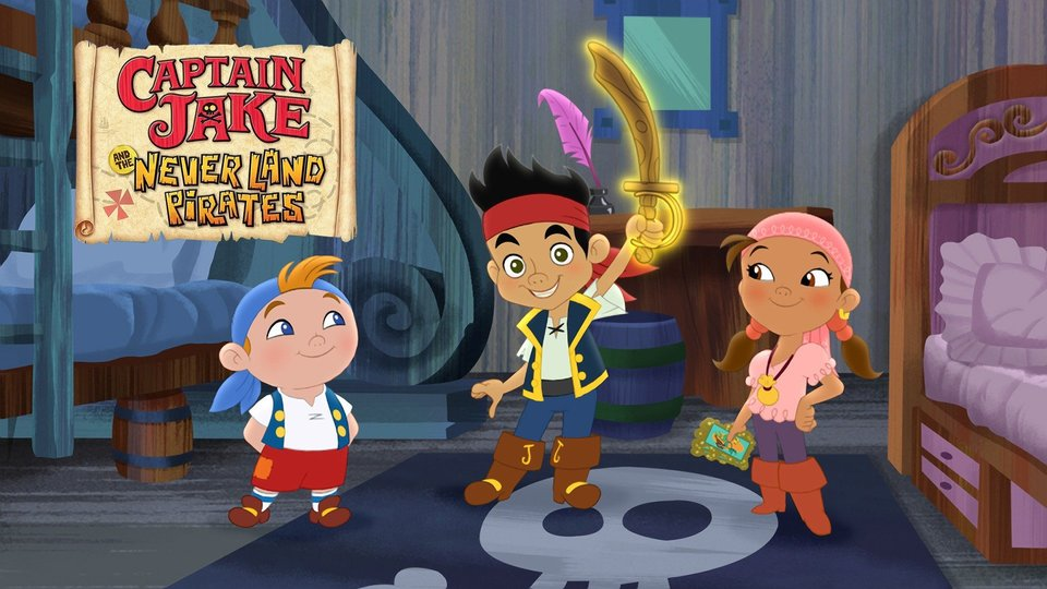 Captain Jake and the Never Land Pirates - Disney Channel
